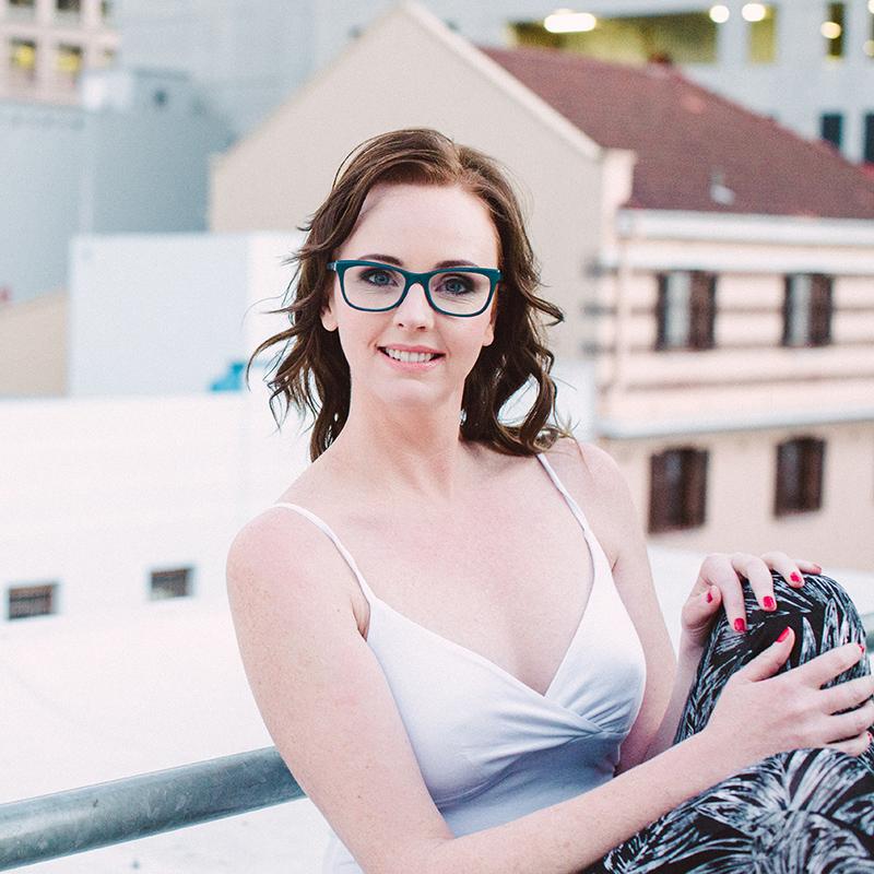 Portrait Of Woman In Cape Town CBD