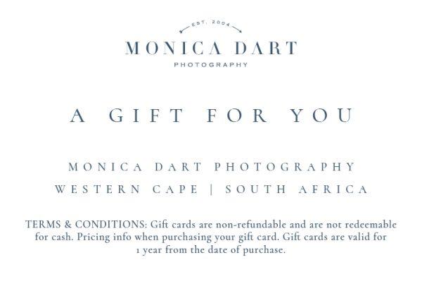 gift voucher monica dart photography